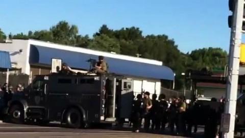 Police Confirm Curfew In Ferguson, MO[360P]-1
