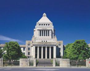 国会議事堂 by アマナイメージズ