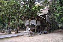 真名井神社社殿(府指定文化財)