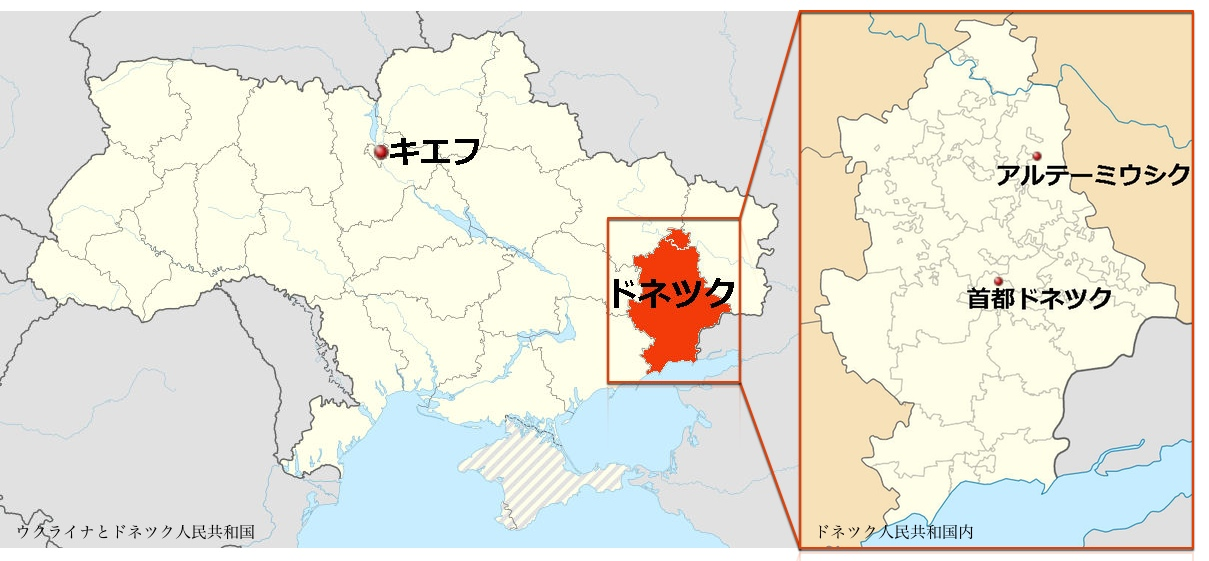 【※地図はWikipediaの各地名ページを参考に作成。】