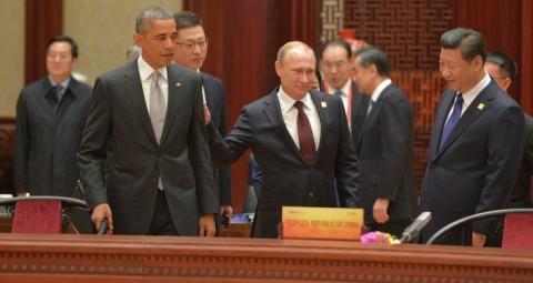 オバマ大統領、プーチン大統領 © SPUTNIK/ ALEXEI DRUZHININ