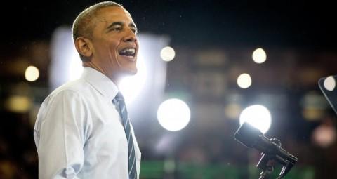 オバマ大統領 記録的短期間で百万人のTwitter加入者