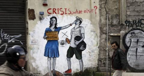 © AP PHOTO/ THANASSIS STAVRAKIS 7月5日 ギリシャでユーロ圏での自国の将来について決める国民投票実施