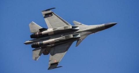 スホイ30戦闘機 © EAST NEWS/ ZHENG HUANSONG 先日ロシアがイラクに供与したスホイ30 すでに「IS」拠点を空爆