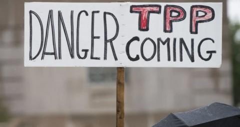 © AFP 2015/ SAUL LOEB 中国人専門家:「TPPプロジェクトの矛盾は日米問題だけに留まらない」