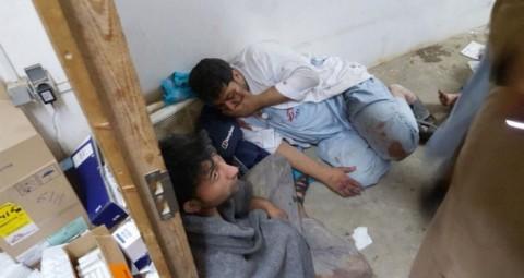 © AP PHOTO/ DOCTORS WITHOUT BORDERS 「国境なき医師団」の看護士が証言、「患者はベッドに寝たまま燃えた」