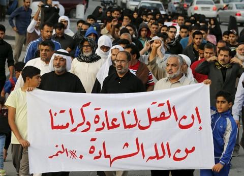 ニムル師の処刑は中東の安定を揺るがす © REUTERS/ HAMAD I MOHAMMED ニムル師の処刑は中東の安定を揺るがす