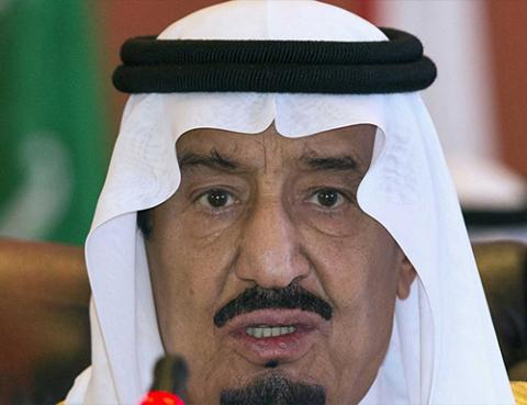 サウジアラビアのサルマン王
