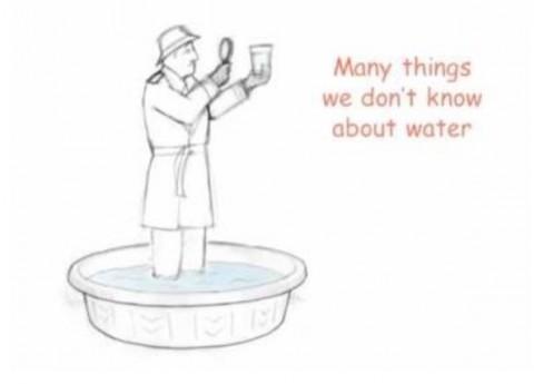 《水について知らないことが沢山ある》