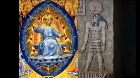 7_Jesus_in_blue_orb_and_Horus