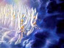 ■ラッパを吹く天使たち