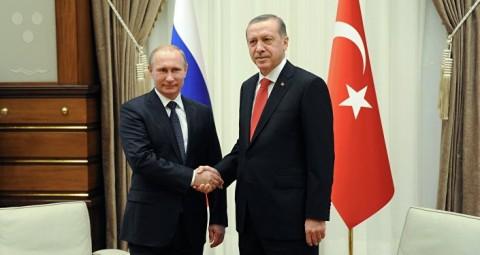© SPUTNIK/ MIKHAIL KLIMENTYEV プーチン・エルドアン両大統領の会談開始:西側の懸念は現実のものに
