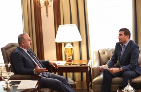 © SPUTNIK/ FUAD SAFAROV トルコ外相:「ロシアの参加なしにシリア紛争を完全に解決するのは不可能」