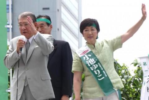 笹川堯氏「党員は堂々と」除名処分屈せず小池氏応援