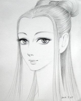 皇妃エリーザベト様 イラスト:中西征子氏