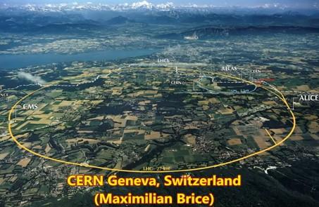 CERN(時空間の歪みを創りポータルになる