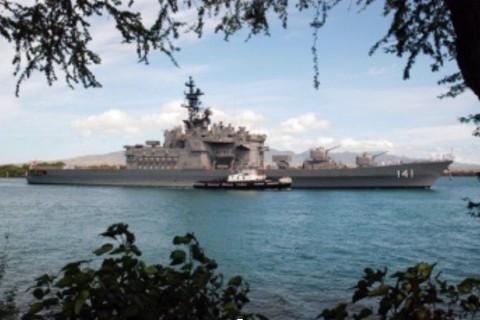 """【※おそらくタイ王国に脅しをかけてきたアメリカの""""船""""…つか、正式な軍艦ですよね。侵略行為ですよね。】"""