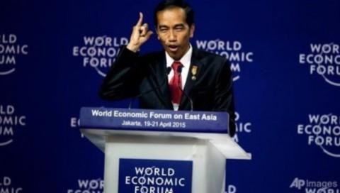 【インドネシアのジョコ・ウィドド大統領、世界経済フォーラムにて】