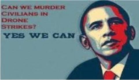「我々はドローン攻撃で市民を殺すことがで きるか?」 「YES WE CAN」