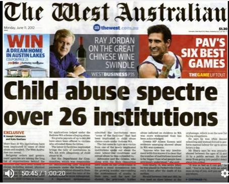 26以上の施設での子供虐待の恐怖