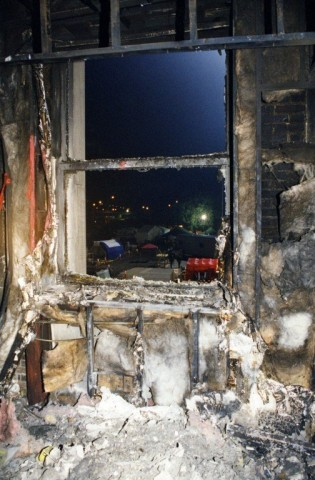 © 写真: FBI 米同時多発テロ後のペンタゴンのある部屋