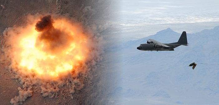 アフガニスタンで米軍が大規模爆...